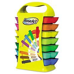 The Board Dudes Broadline Markers, Storage Caddy, Classroom Set, 26 sets of 8, 208/Total