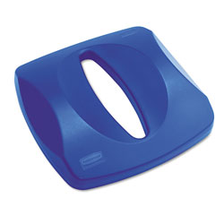 Rubbermaid Untouchable® Paper Recycling Top for 3569 Containers, Blue