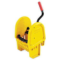 Rubbermaid WaveBrake® Down-Press Mop Wringer, Yellow