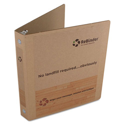 Rebinder Original Zero Waste Corrugated Binder, 8-1/2 x 11, Brown Kraft