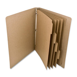 Rebinder Recycled Index Tabs, Brown