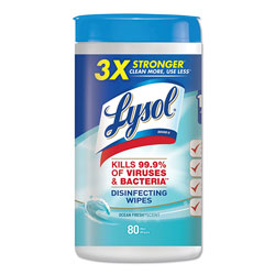 Lysol® Disinfecting Wipes, Ocean Fresh Scent, Case of 6
