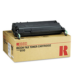 Ricoh Copier Toner for Aficio 5000L, (Type 5110), Black