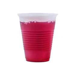 9 Oz Cold Plastic Cups, Clear, Pack of 2500 25 Packs Per Case.100 cups per pack.