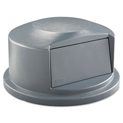 Rubbermaid Dome Top, 44 Gallon, Structural Foam, Gray