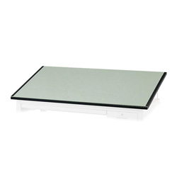 "Safco Green Nonglare 1"" Thick Board for Precision Four Post Drafting Table Base, 72""w"