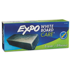 Expo® Dry Erase Eraser, For White Boards, Porcelain & Melamine Surfaces