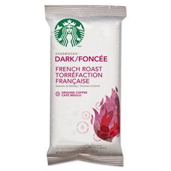 Starbucks Coffee, French Roast, 2.5 oz Bag, 18 Bags/Box. Box of 18