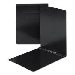 Smead End Opening Pressboard Report Cover with Prong Fasteners, Black, Each