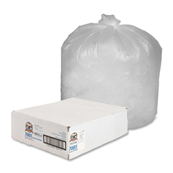 Sparco Products Trash Bags Trash Can Liners Economy High Density