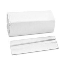"Private Brand C-Fold Towels, 1-Ply, 13"" x 10-1/8"", 200 SH/PK, White"