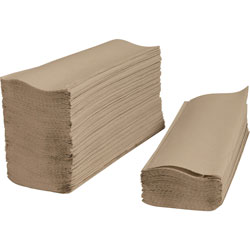Private Brand Paper Towels Multifold Towels Hands free Hands Free Multi Fold  Multifold Towels 9 2 5inch x 1 4inch 250SH PK Kraft