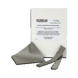 "Care Medical/Silverlon Wound Packing Strip, 1"" x 12"", 5 per Box"