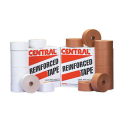 72mm x 375' Reinforced Paper Gum Tape White