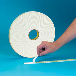 "3M® 1"" x 36 Yards #4008 Double Sided Polyurethane Foam Tape 1/8"" Thickness"