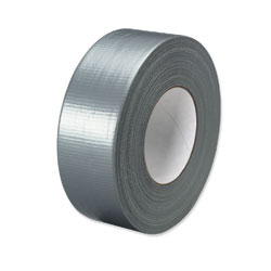 "2"" x 60 Yards Medium Grade Silver Cloth Duct Tape 11.0 Mil"