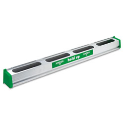 .  Unger 36inch Hold Up Aluminum Tool Rack Green Silver