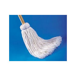 janitorial supplies  Unisan 120C Cotton 20 oz Handle Deck Mops