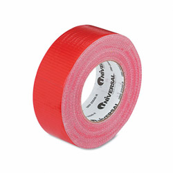 Universal General Purpose Duct Tape, 9.0 mils Thick, 48mm x 55m, Red