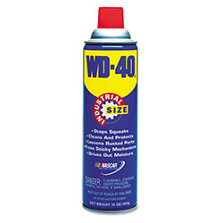 WD-40 Spray Lubricant, 16 oz. Aerosol Can
