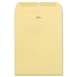 Westvaco Clasp Envelopes, Manila, 10 x 13, 100/Box