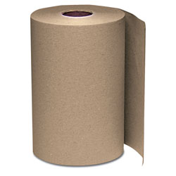 "Windsoft 108 Natural Bulk Hardwound Roll Towels, 8"" x 350'"