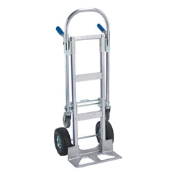 2 in 1 Aluminum Convertible Hand Truck Jr