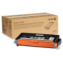 Xerox 106R01388 Cyan Toner, 2,200 Pages
