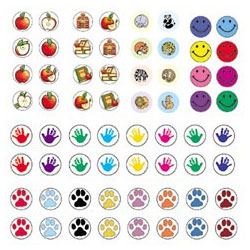 Mini Stickers Variety Pack. Pack Of 3168 Picture