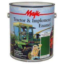 Majic Paint Tractor and Implement Enamel, Gallon John Deere Green