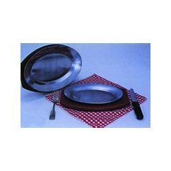 "Admiral Craft Sizzling Steak Platters 12 1/2"" x 8 1/2"""