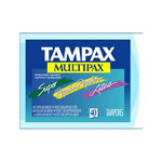 Tampax® Multipax - case of 480