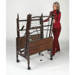 Medline Transport Cart - Kit, Bed Cart, For Homecare Bed