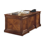 Martin Furniture Mount View IMMV720 Executive Desk - 7 Drawer - Double - Cherry