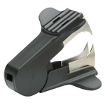 SkilCraft Staple Remover, 12/BX, Black with Silver Claws