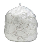 "SkilCraft Can Liners, Coreless, Medium Duty, 30"" x 37"", 20-30 Gal Cap., NL"