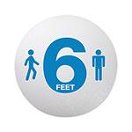 Personal Spacing Floor Signs
