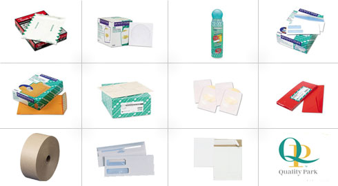 Save up to 60% on Quality Park Enevelopes and Business Paper Products.