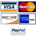 ReStockIt accepts Discover,American Express,MasterCard and Visa, PayPal