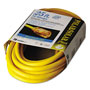 Coleman Cable Polar/Solar Indoor-Outdoor Extension Cord With Lighted End, 25ft, Yellow