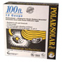 Coleman Cable Polar/Solar Indoor-Outdoor Extension Cord With Lighted End, 100ft, Yellow