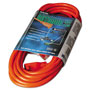 Coleman Cable Vinyl Outdoor Extension Cord, 25ft, 13 Amp, Orange