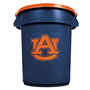 Rubbermaid Brute 32 Gal Auburn Trash Container with Lid