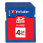 Verbatim Flash Memory Card - 4 GB - SDHC
