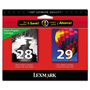 Lexmark Combo Pack #28 + #29 - Print Cartridge