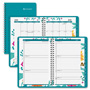 At-A-Glance Ewelina Academic Weekly/Monthly Appointment Boo, Teal