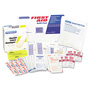 Physicians Care First Aid Refill Pack with Most Frequently Used Products, 94 Pieces/Pack