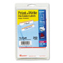 Avery Permanent Self Adhes File Folder Typewriter Labels, 3 7/16 x 15/16, Orange, 252/Pack