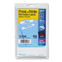 Avery Permanent Self Adhes File Folder Typewriter Labels, 3 7/16x15/16, Light Blue, 252/Pack