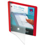 "Avery See Thru™ 1/2"" View Binder, Red"